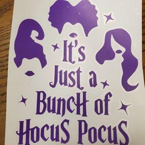 Other - Hocus Pocus Vinyl Decal